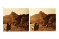 Francia Gorges Da L Ardeche Foto n46L7-22 Placca Lente Stereo Vintage