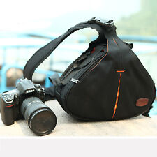 Universal Sling Shoulder Camera Case DSLR Lens Waterproof Travel Carry Bag AU