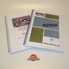 Manuales de reparación y servicios CB Honda