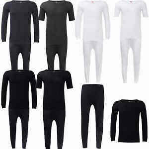 New Mens Thermal Long Johns Top Bottom Underwear Short and Full Sleeves Warm