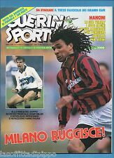 GUERIN SPORTIVO-1991 n.10- GULLIT-BERTI-ZOLA- NO INSERTO GRANDI CLUB