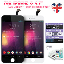 For iPhone 6 Black Screen Replacement LCD Display Touch Digitizer Assembly