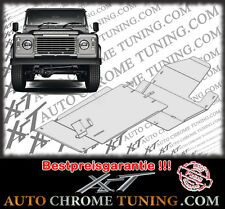 Aluminium Unterfahrschutz für Land Rover Defender 110 ab 2004 -