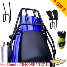 For Honda CB 400 SF rear rack Super Four VTEC 3 rear luggage rack (04-07), Bonus