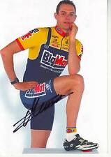 CYCLISME carte cycliste NICOLAS MEUNIER équipe BIG MAT AUBER 93  signée