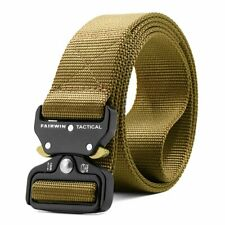 Belt Military Style Nice Gift Tactical Webbing Riggers Belt Heavy Duty Quick
