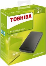 "NEW 2TB 2.5"" Toshiba Canvio Basics USB3.0 Portable External HDD Hard Disk Drive"