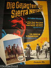 Die Gejagten der Sierra Nevada -24 AUSHANGFOTOS Plakat A1 Robert Woods Fernando