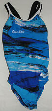 NWT Dolfin Swimsuit Little Girls Chlorine Resistant Sz 22  (approx. 6)