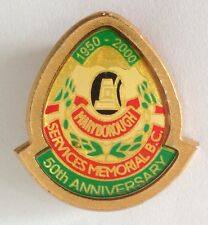 Maryborough 50th Anniversary 2000 Bowling Club Badge Pin Lawn Bowls (L20)