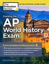 Princeton Review Cracking the AP World History Exam 2018, Paperback by Prince...