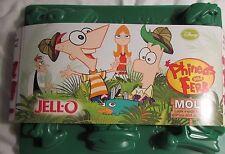 Jello Jell-O Mold Jiggler Jigglers Disney Phineas and Ferb BRAND NEW
