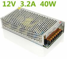 DC12V 3.2A  40W LED Driver Strip Lighting Transformers Power Supply AC 110V/220V