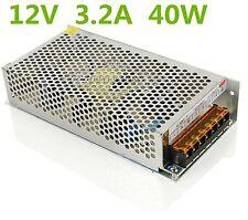 New 12V 3.2A 40W LED Driver Strip Lighting Transformer Power Supply AC 110V/220V