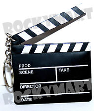 """Clapboard Key chain Directors Movie Tv Film"""" Take one"""" Party Favor COOL RM2617"""