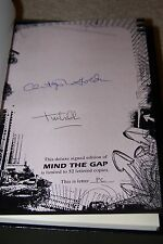 """CHRISTOPHER GOLDEN - MIND THE GAP - LETTERED """"PC"""" - Cemetery Dance Publications"""