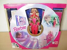 1997 *TALK WITH ME!* BARBIE #17350 BY MATTEL. INTERACTIVE DOLL NIB.