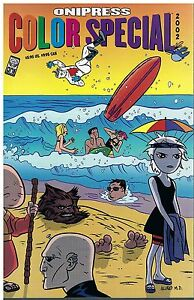 Oni Press Color Special 2002 Warren Ellis Phil Hester