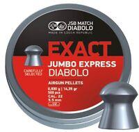 JSB Exact Jumbo EXPRESS .22 5.52 Match Diabolo Pellets Field Target HFT EXACTS