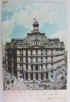 Postcard Antique New York City 1906 Post Office Used Color One Cent Undivided