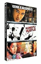 UNLEASHED/ KUNG FU HUSTLE/ CROUCHING TIGER HIDDEN - 3 DISC DVD SET - NEW SEALED