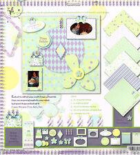 Feliz Cumpleaños Scrapbooking-Carol Wilson Kit de papel de 12 X 12