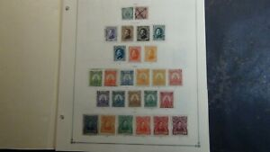 Honduras stamp collection on Scott Int'l pages w/ many 100's or so to '79