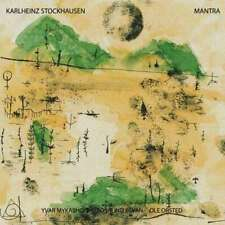 STOCKHAUSEN Mantra 2xLP *SEALED* john cage kagel feldman xenakis bayle