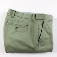 TOMMY HILFIGER Chinos Men's THFLEX Stretch Straight Fit Light Green 78C8597-312