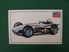 N°233 LEADER CARD USA ETATS-UNIS 1959 PANINI 1972 HISTOIRE DE L'AUTOMOBILE