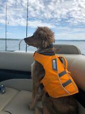 New listing Rufwear Float Coat Dog Life Jacket Wave Orange Size S