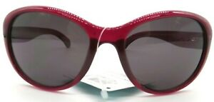Foster Grant Women's Fashion Sunglasses Color Frame Plumb
