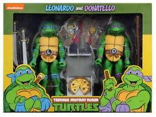 Teenage Mutant Ninja Turtles Leonardo & Donatello Cartoon Figure 2 Pack TMNT