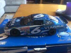 Mark Martin #6 2002 Viagra Blue Chrome Ford Taurus Owners Series 1:24- Awesome