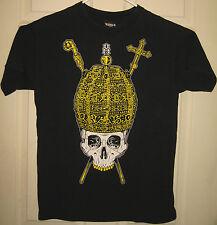 REBEL 8 Shirt M Golden Crown Skull Design Royal Street Wear Swag OOP RARE HTF