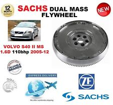FOR VOLVO S40 MS 1.6 D 110 bhp 2005-2012 SACHS DMF DUAL MASS FLYWHEEL with BOLTS