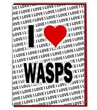 Greeting Card - Birthday Card - I Love Wasps