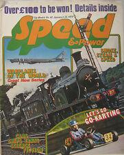 Speed & Power magazine 3 January 1975 Issue 42
