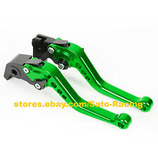 Bicycle CNC Adjustable Brake Clutch Levers Set For Kawasaki ZX7R/ZX7RR 1989-2003