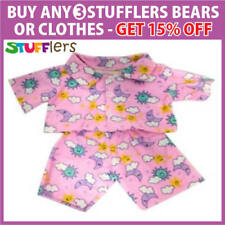 a218d1953b4 PINK FLANNELETTE PJS pajamas Clothing by Stufflers – Will fit on a Build a  bear