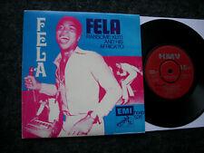 FELA RANSOME KUTI orig.1970 Nigeria HMV red Label BLACK MAN`S CRY/BEAUTIFUL DANC