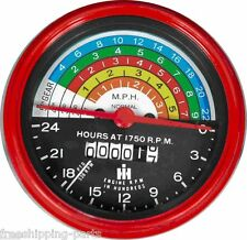 Farmall  300 & 350 Row Crop Gas Tractor  - Replacement Tachometer - 363829R91