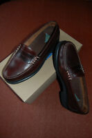 Mens Rockport Brown Leather Loafers Chocolate UK Size 9 Excellent Condition