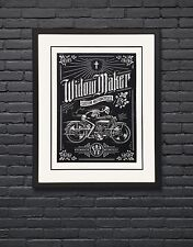 Widow Maker Motorcycle Poster