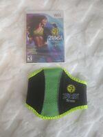 Zumba Fitness 2 (Nintendo Wii, 2011) New Sealed Game With Zumba Belt FREE SHIP