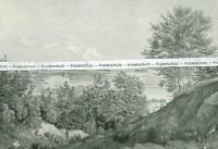 München : Das Isartal - Nach einem Aquarell von Gustav Kraus - um 1925   V 7-13