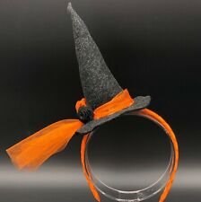 Witch Hat Headband, Mini Hat Headband, Burlesque Headpiece, Witch Hat Headpiece,