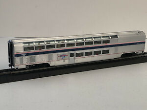 CUSTOM HO SCALE PACIFIC PARLOUR CAR AMTRAK WAVE IVb 39973 SANTA LUCIA HIGHLANDS