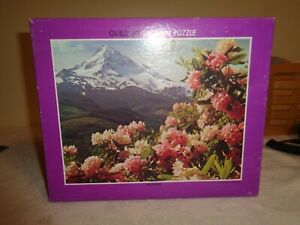 Vintage Jigsaw Puzzle GuildRhododendron30014x18Sealed box complete NOS
