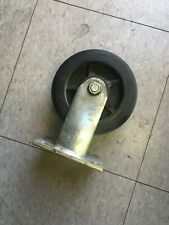 """Faultless 6"""" X 2"""" rubber wheel fixed caster excellent condition"""
